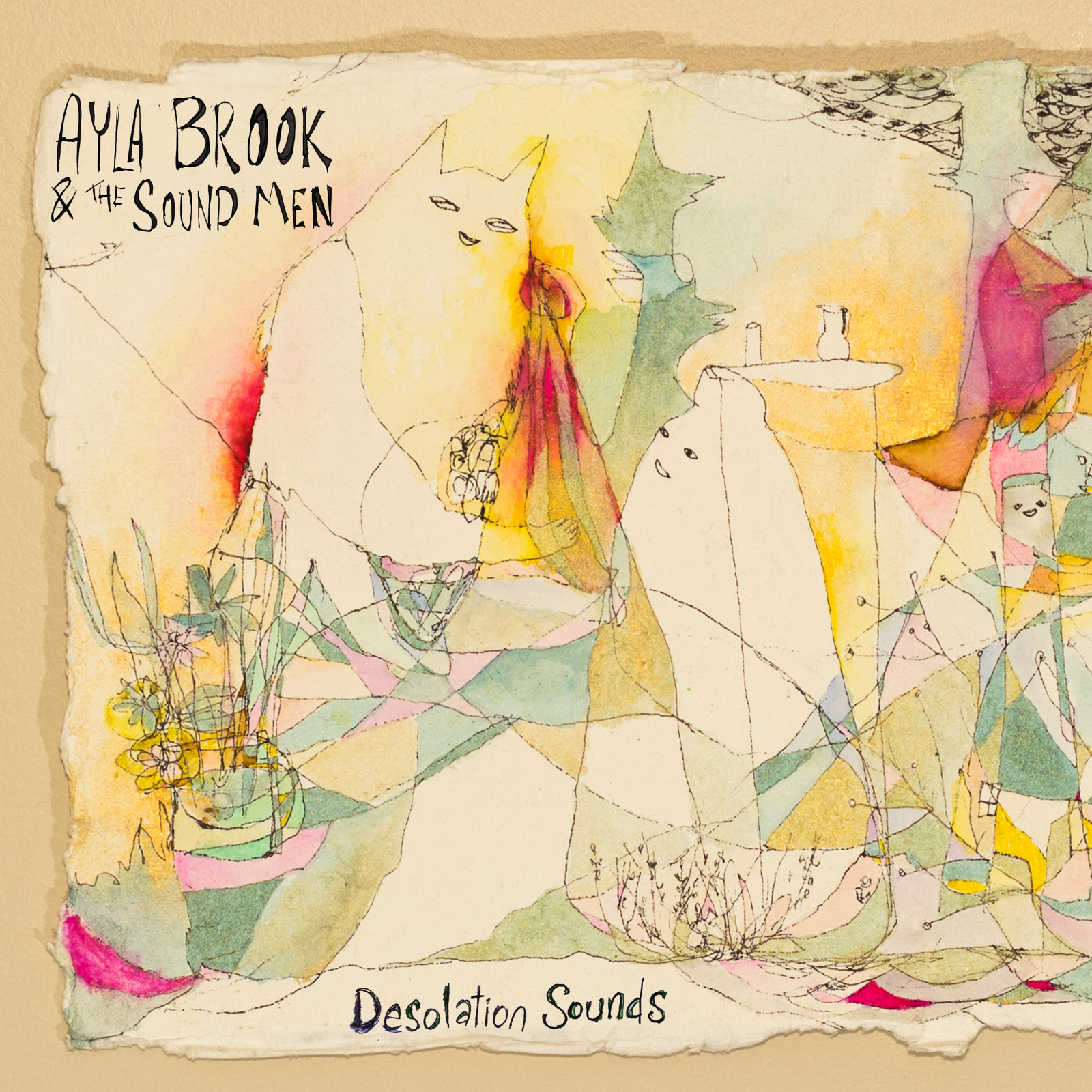 Desolation Sounds Album Cover LARGE